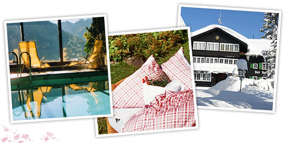 hotel sonnenberg das kleine romantische hotel im kleinwalsertal einfach himmlisch verw hnen. Black Bedroom Furniture Sets. Home Design Ideas